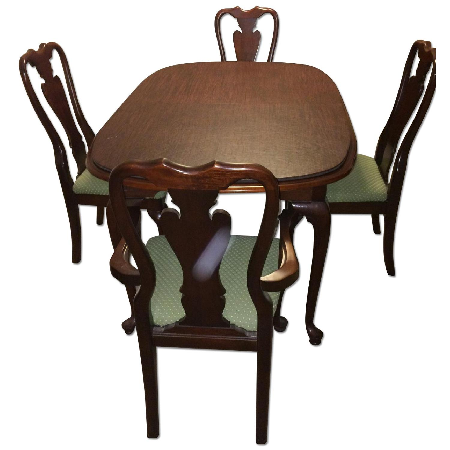 Cherryvale American Drew 7-Piece Extendable Oval Dining Set in Cherry - image-0
