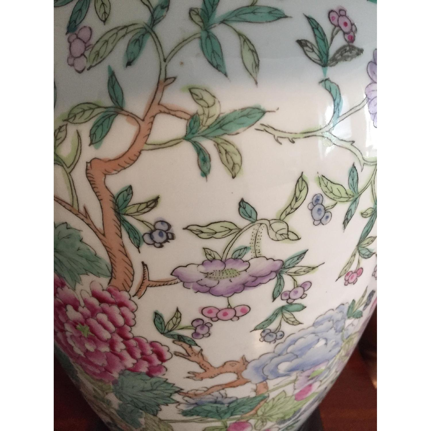 Chinese Style Porcelain Lamps - image-2