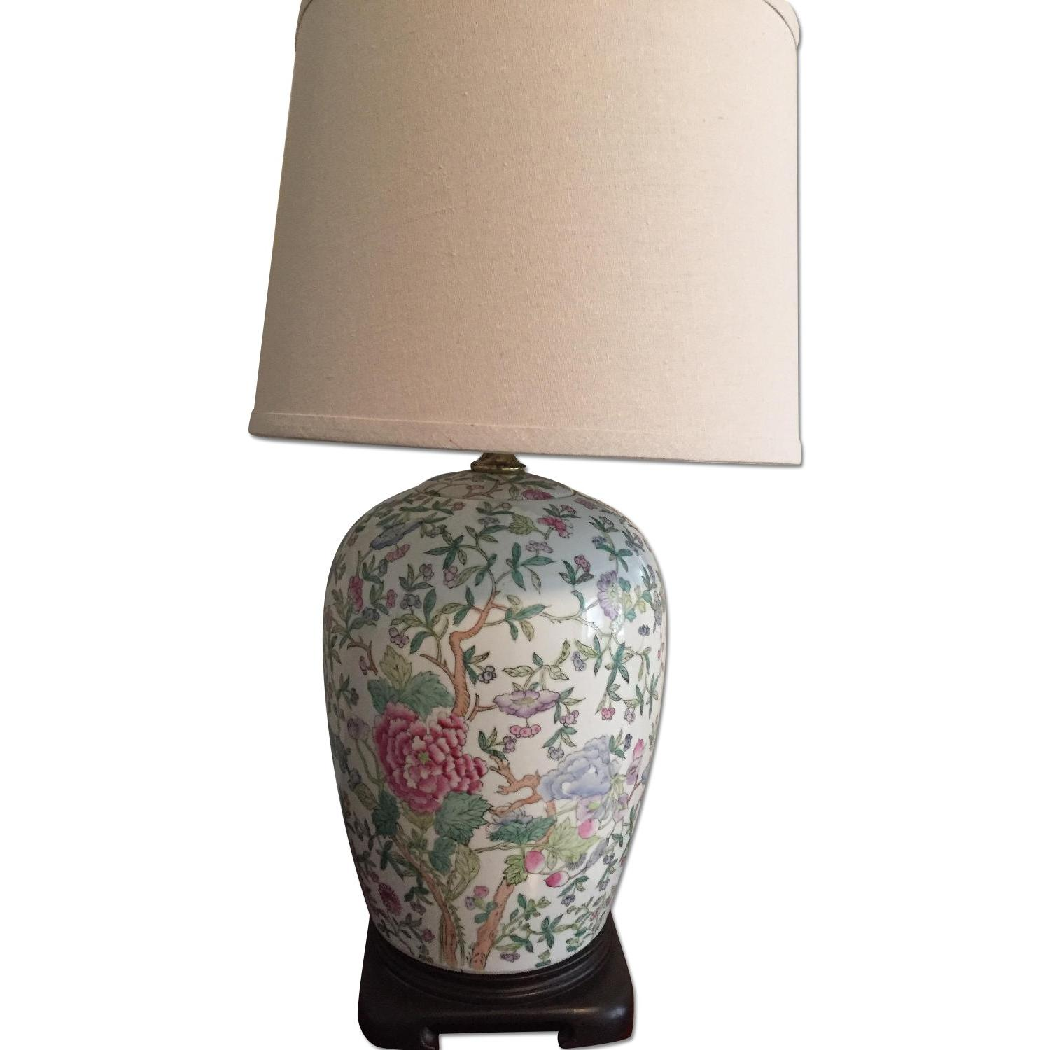 Chinese Style Porcelain Lamps - image-0