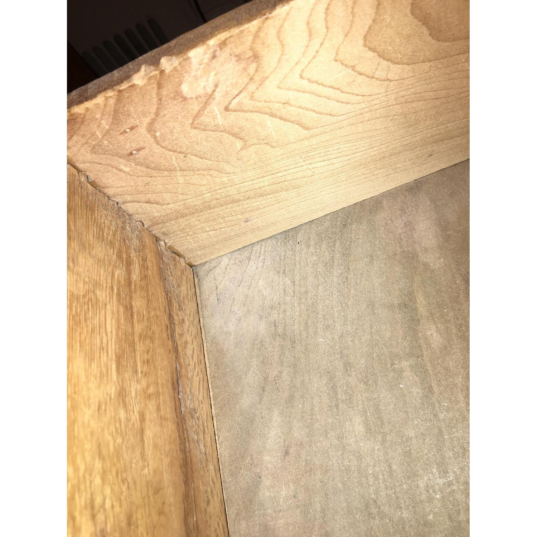 Antique Oak S-Shape Roll-Top Desk - image-9
