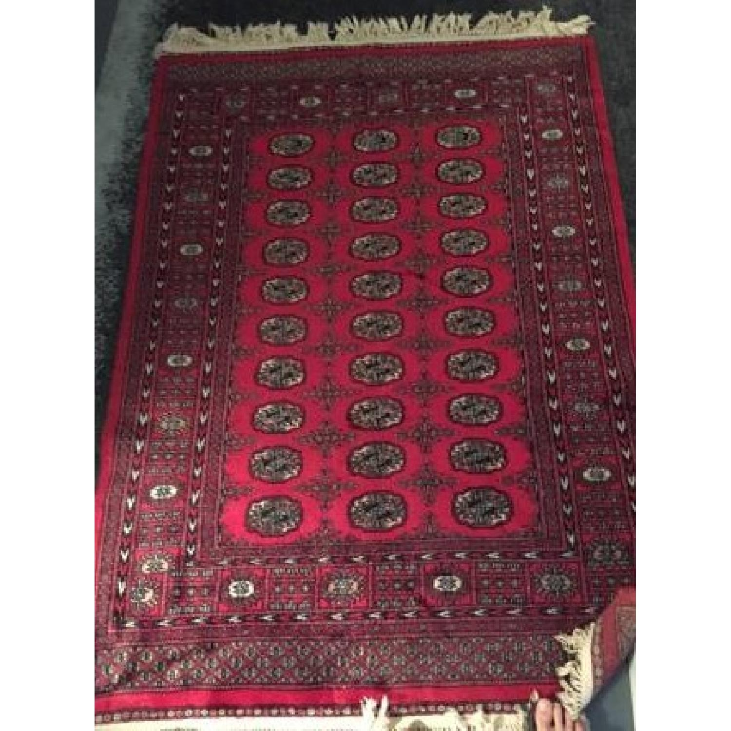 Red Oriental Area Rug - image-1