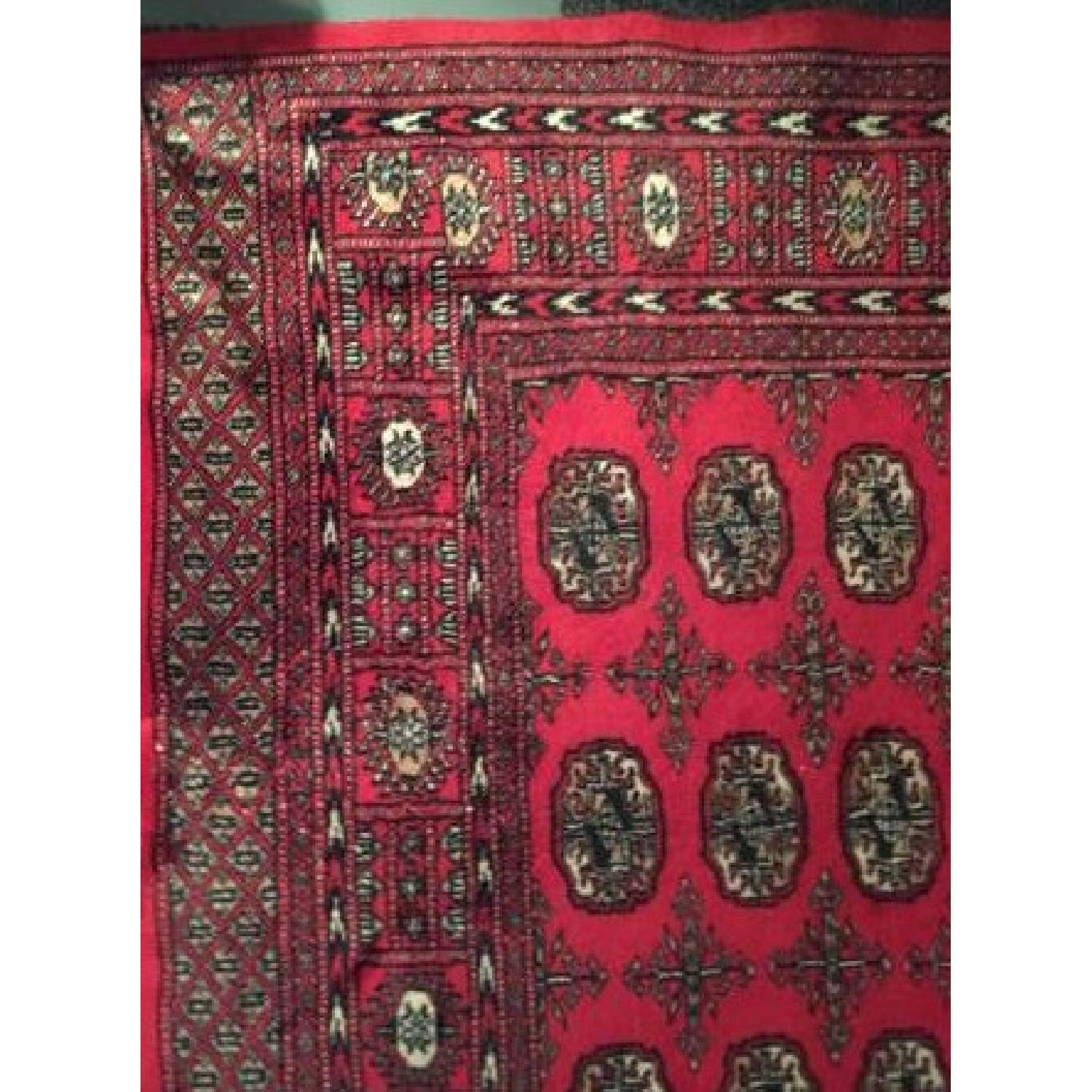 Red Oriental Area Rug - image-2