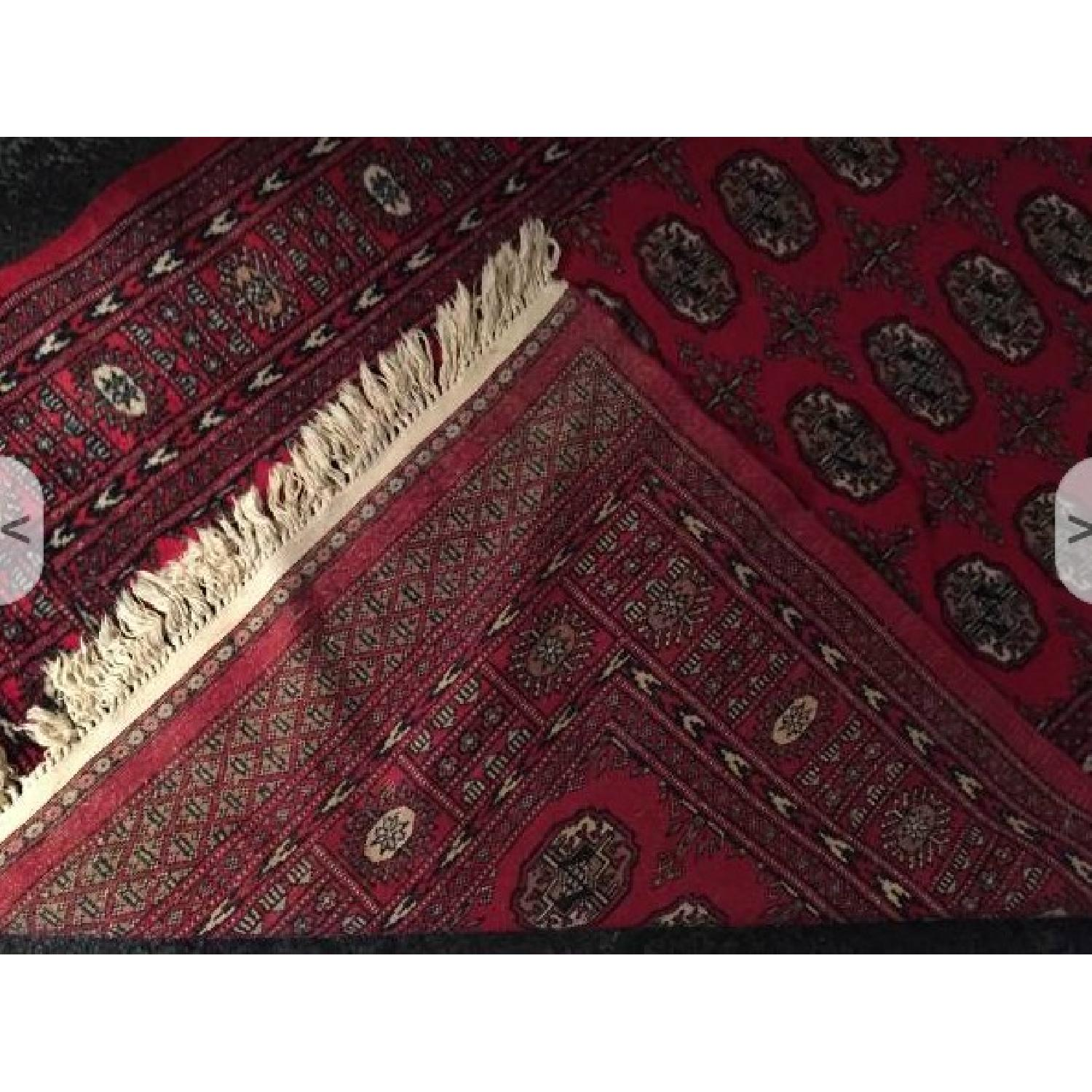 Red Oriental Area Rug - image-3