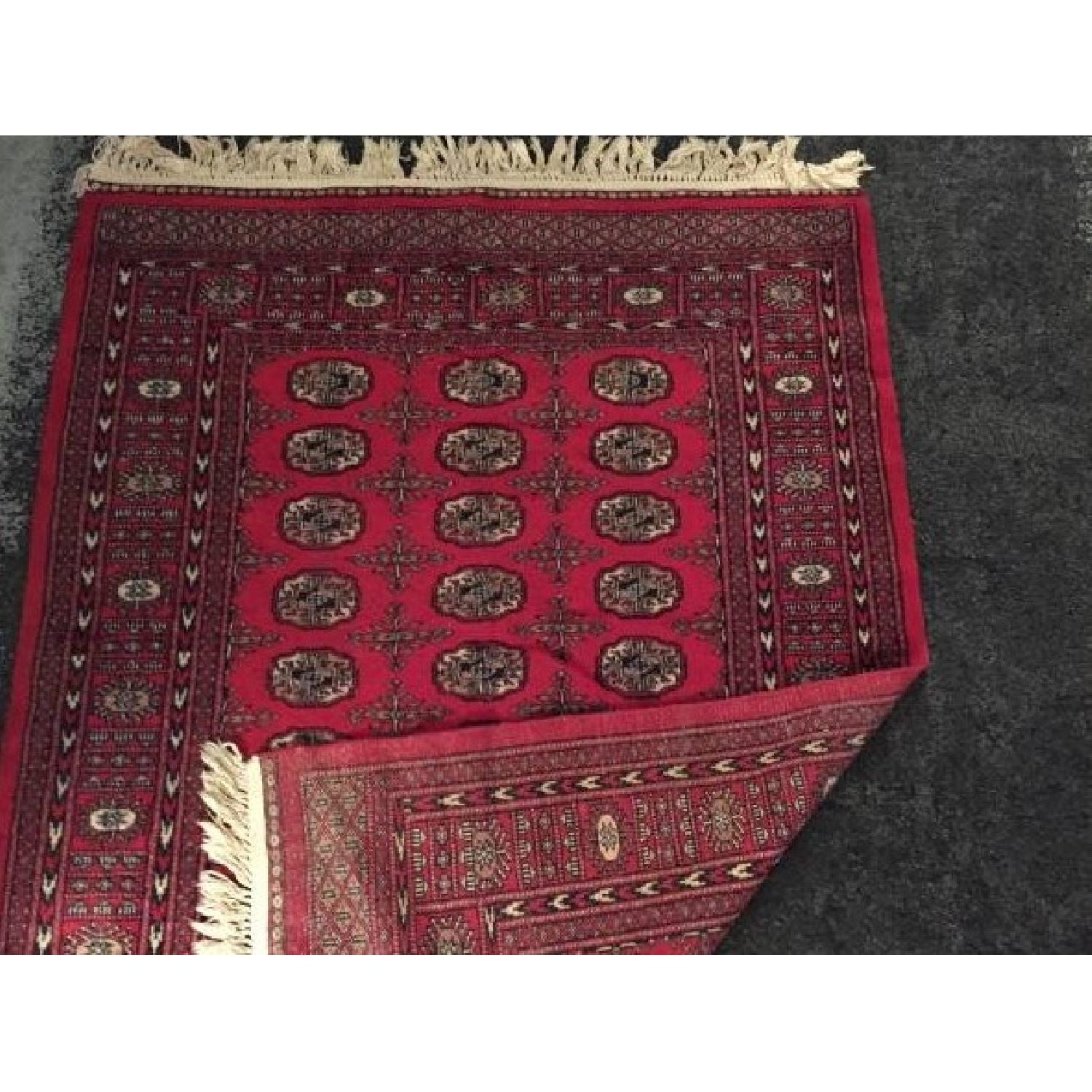Red Oriental Area Rug - image-4