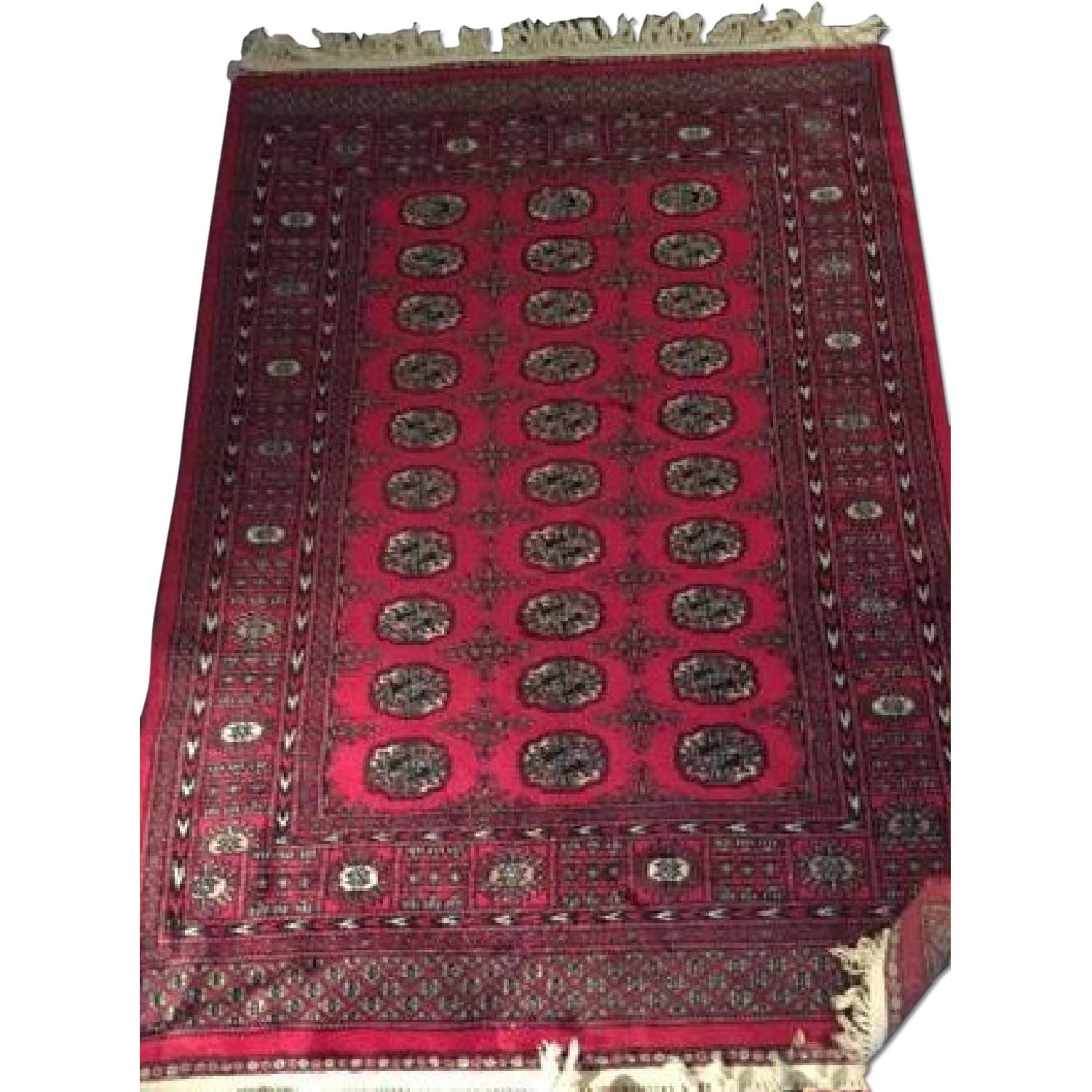 Red Oriental Area Rug - image-0