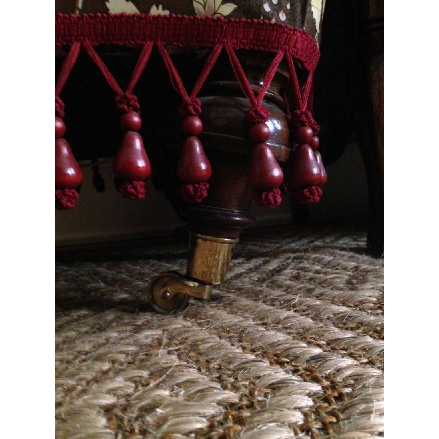 Small Upholstered Floor Chair - image-6