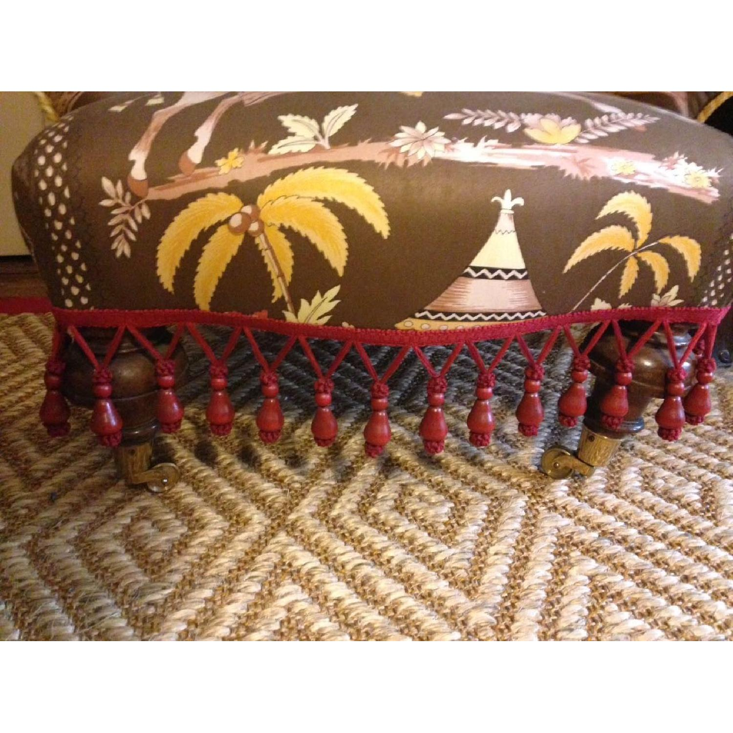 Small Upholstered Floor Chair - image-7