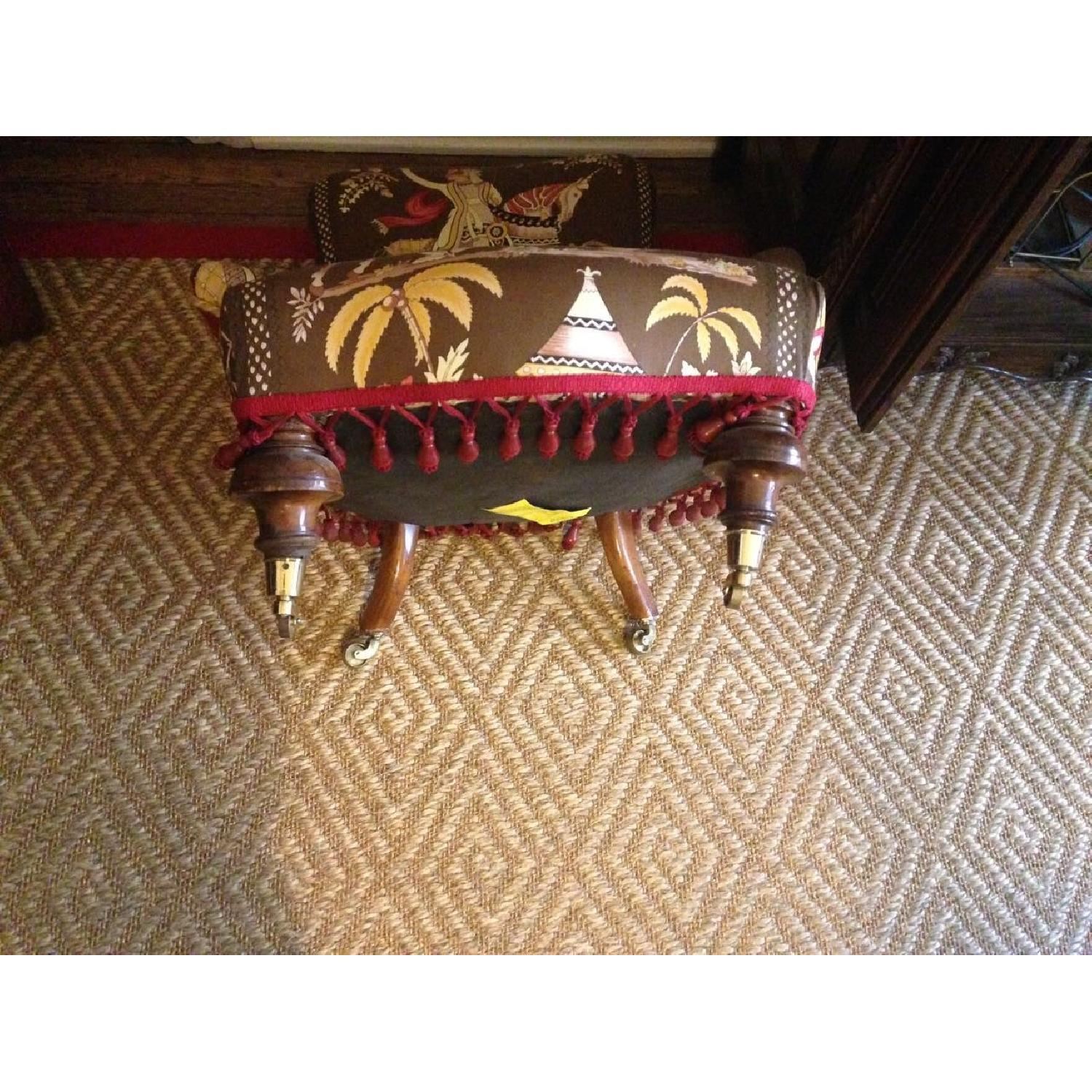 Small Upholstered Floor Chair - image-8