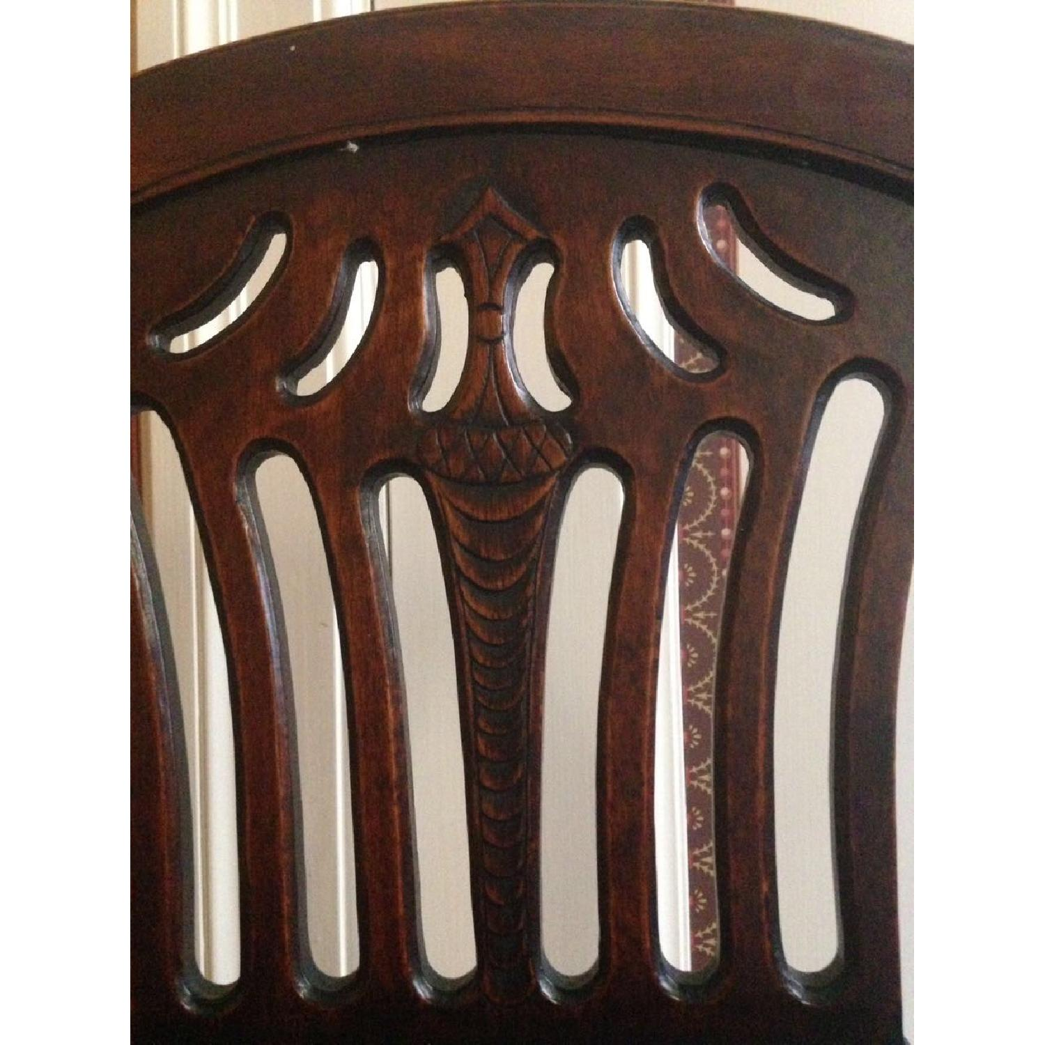 Ballon Back Walnut Desk Chair - image-4