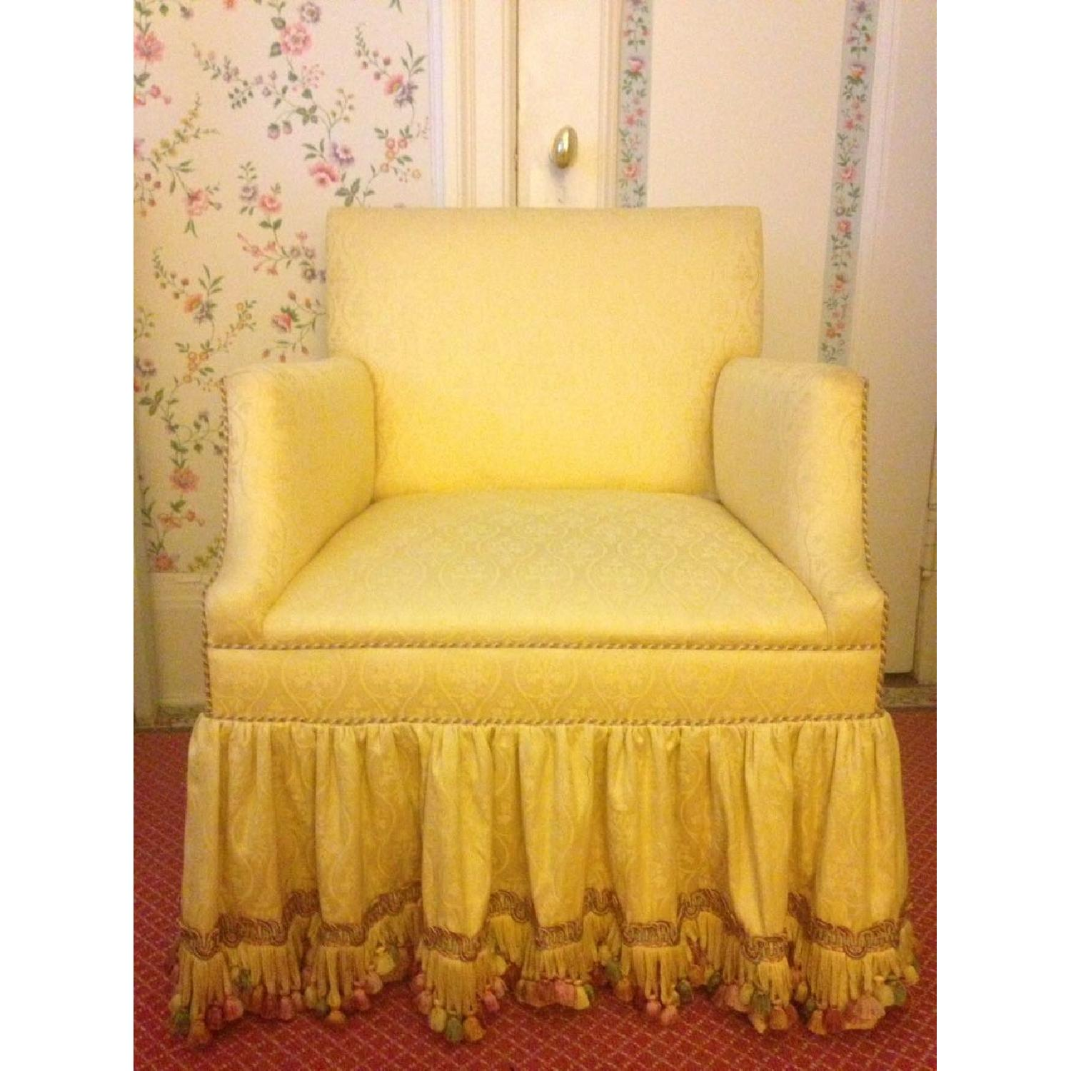 Upholstered Armchair - image-7