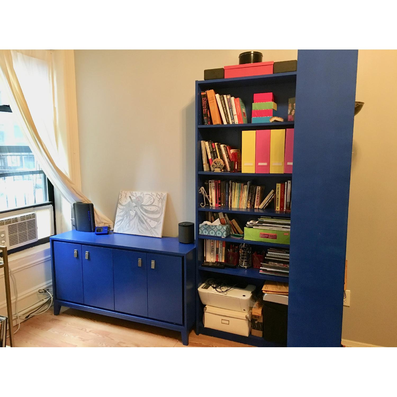 Ikea Billy Hand Painted Bookcases - image-0