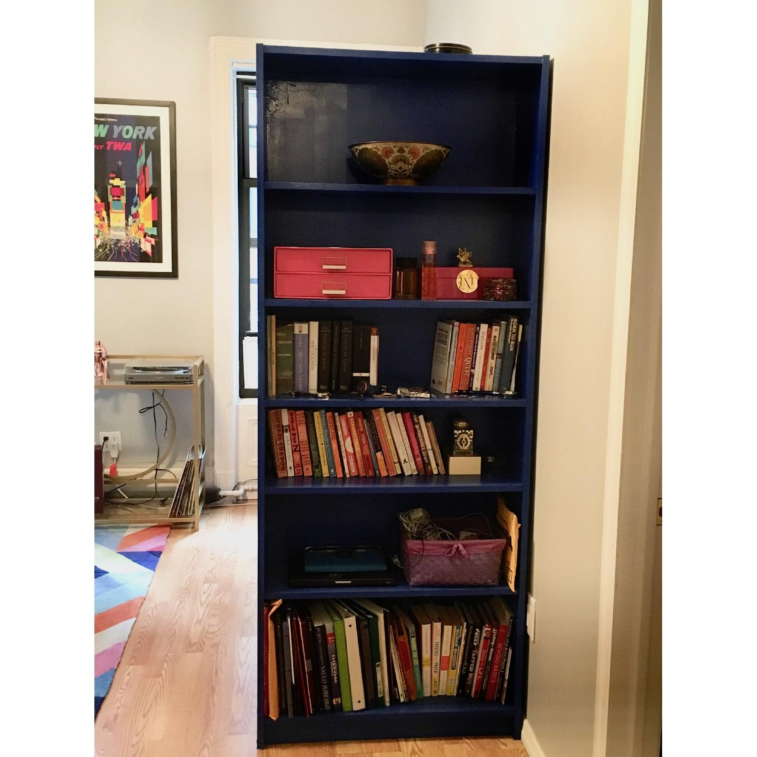 Ikea Billy Hand Painted Bookcases - image-1