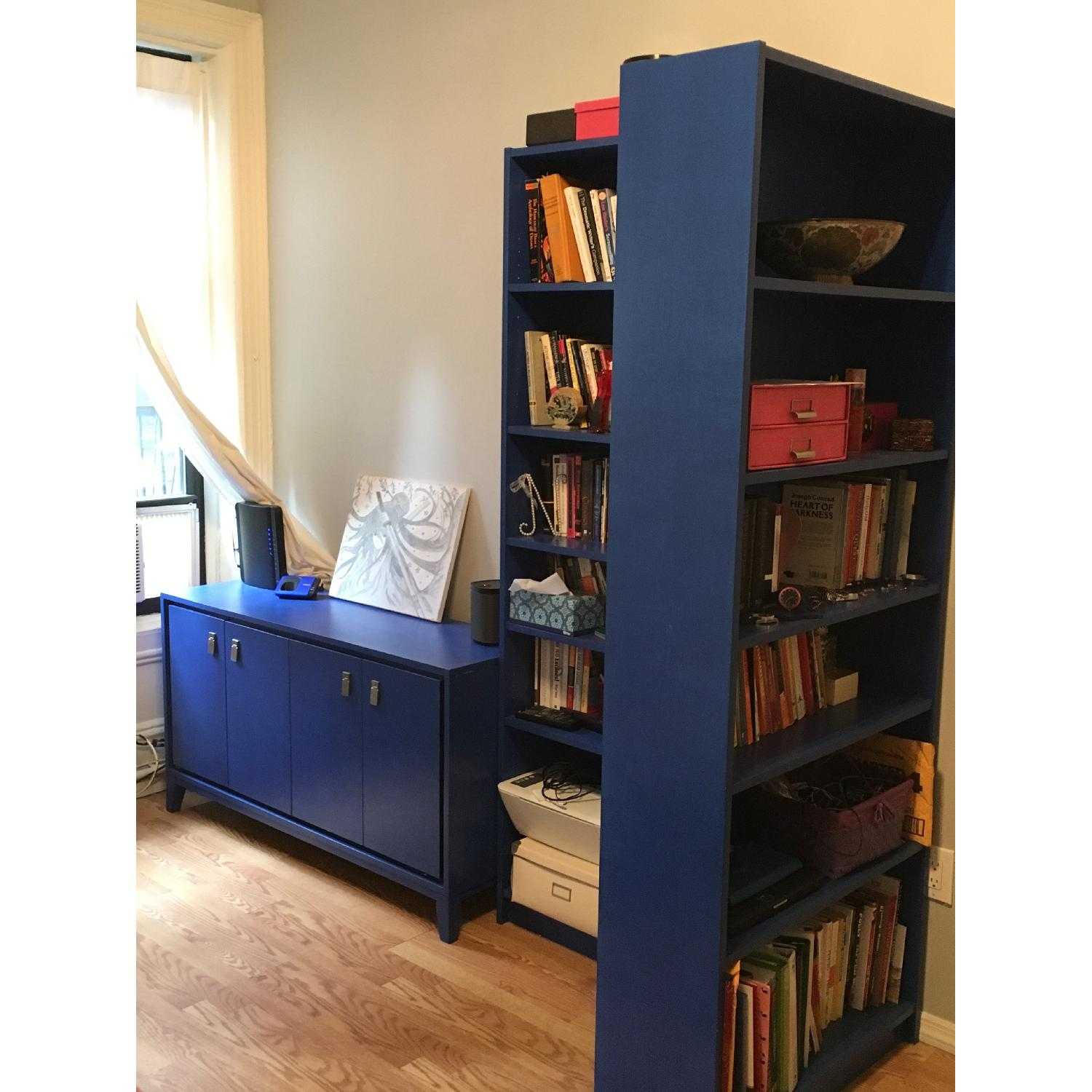 Ikea Billy Hand Painted Bookcases - image-2