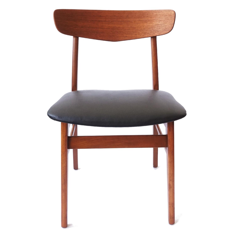 Farstrup V-Back Teak Chairs - image-3