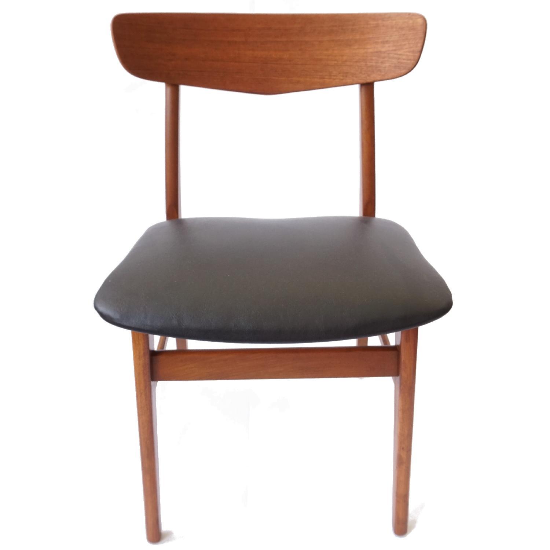 Farstrup V-Back Teak Chairs - image-5