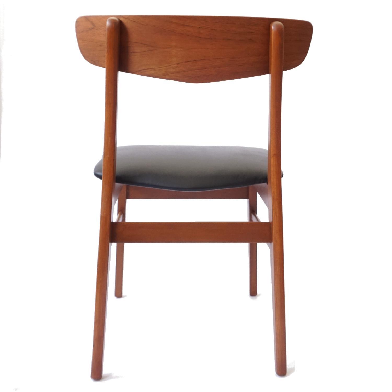 Farstrup V-Back Teak Chairs - image-6