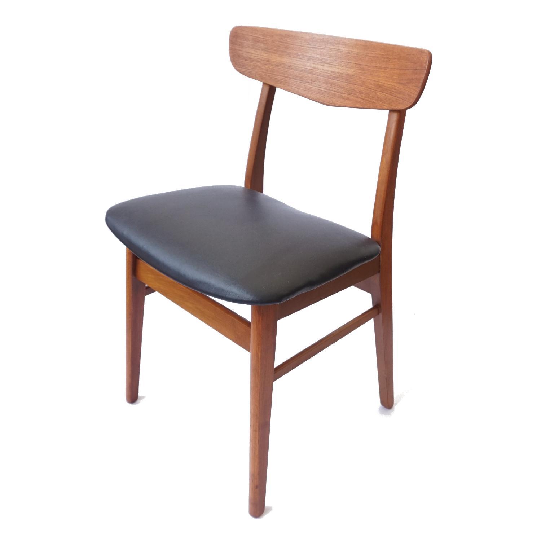 Farstrup V-Back Teak Chairs - image-10