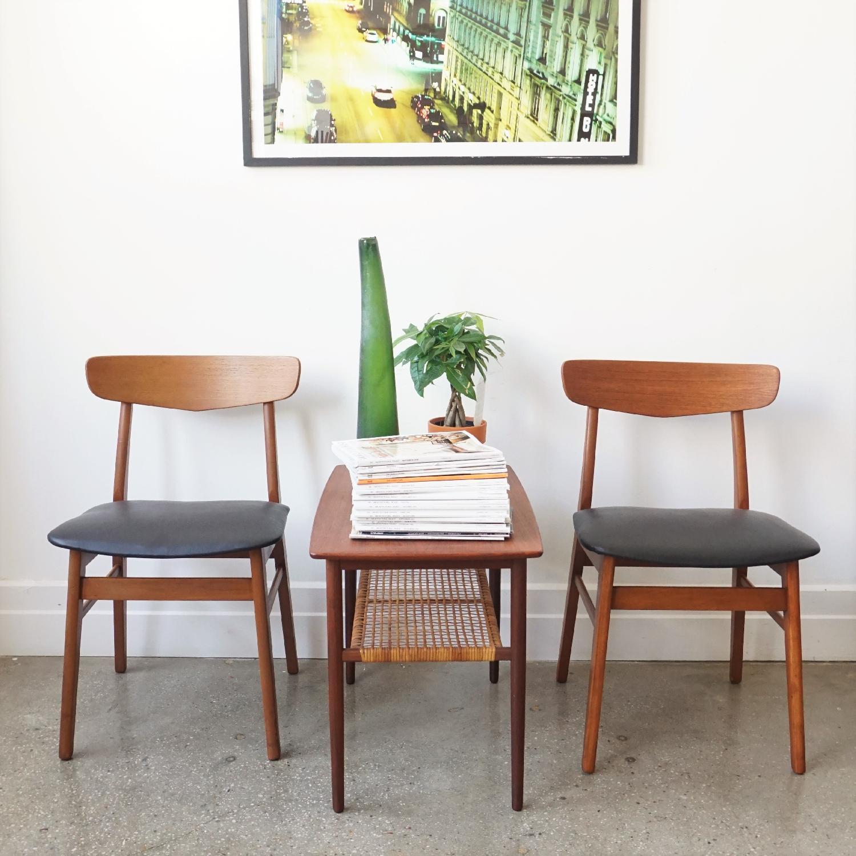 Farstrup V-Back Teak Chairs - image-14