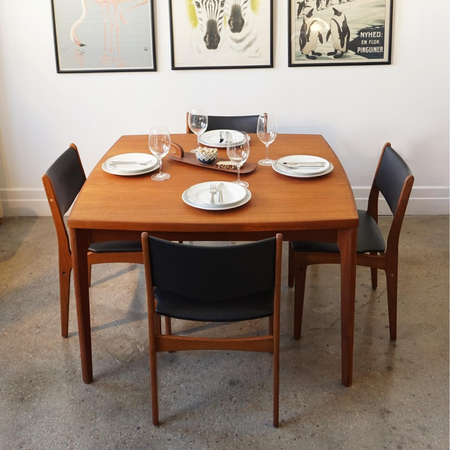 Henning Kjrnulf Extendable Dining Table - image-3