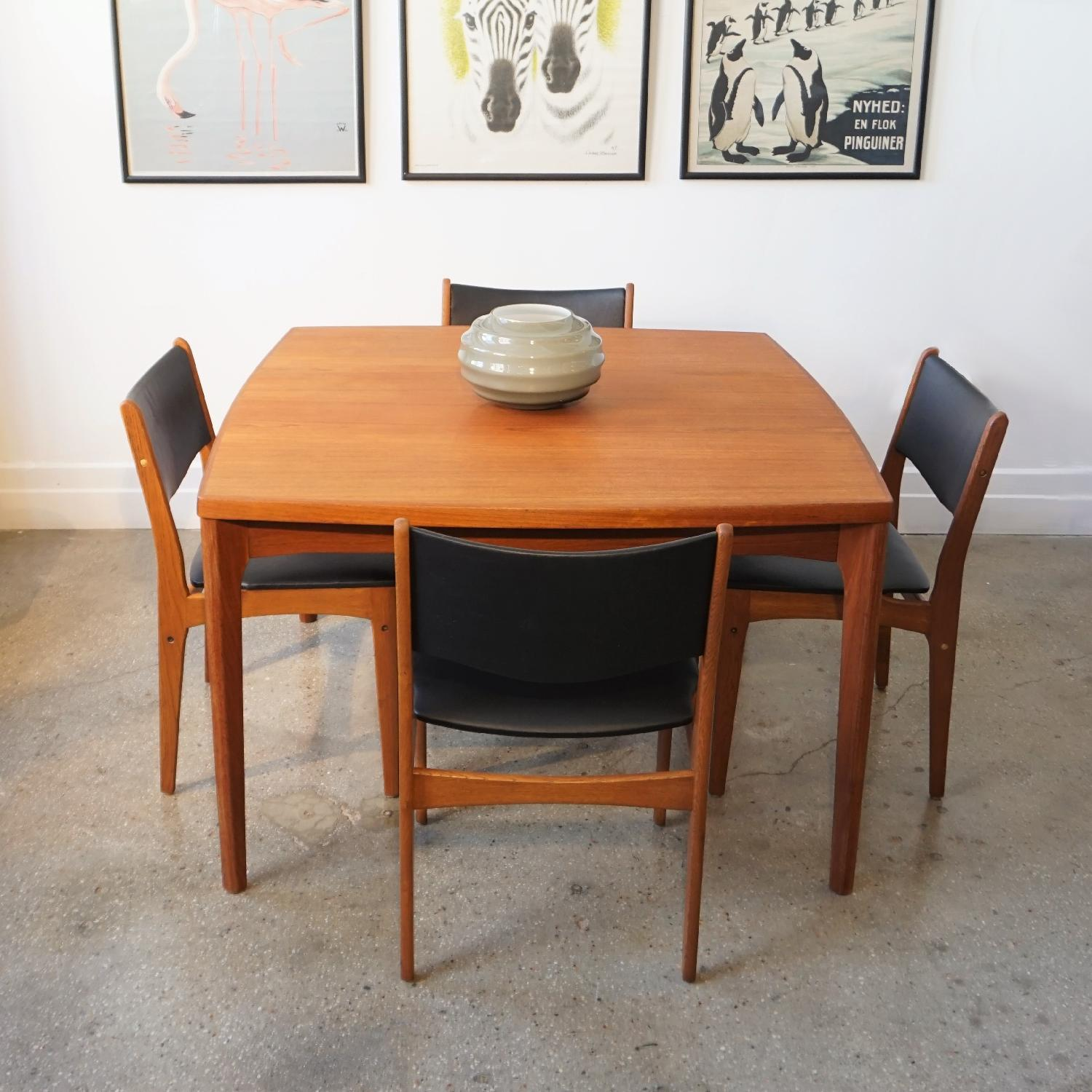 Henning Kjrnulf Extendable Dining Table - image-4