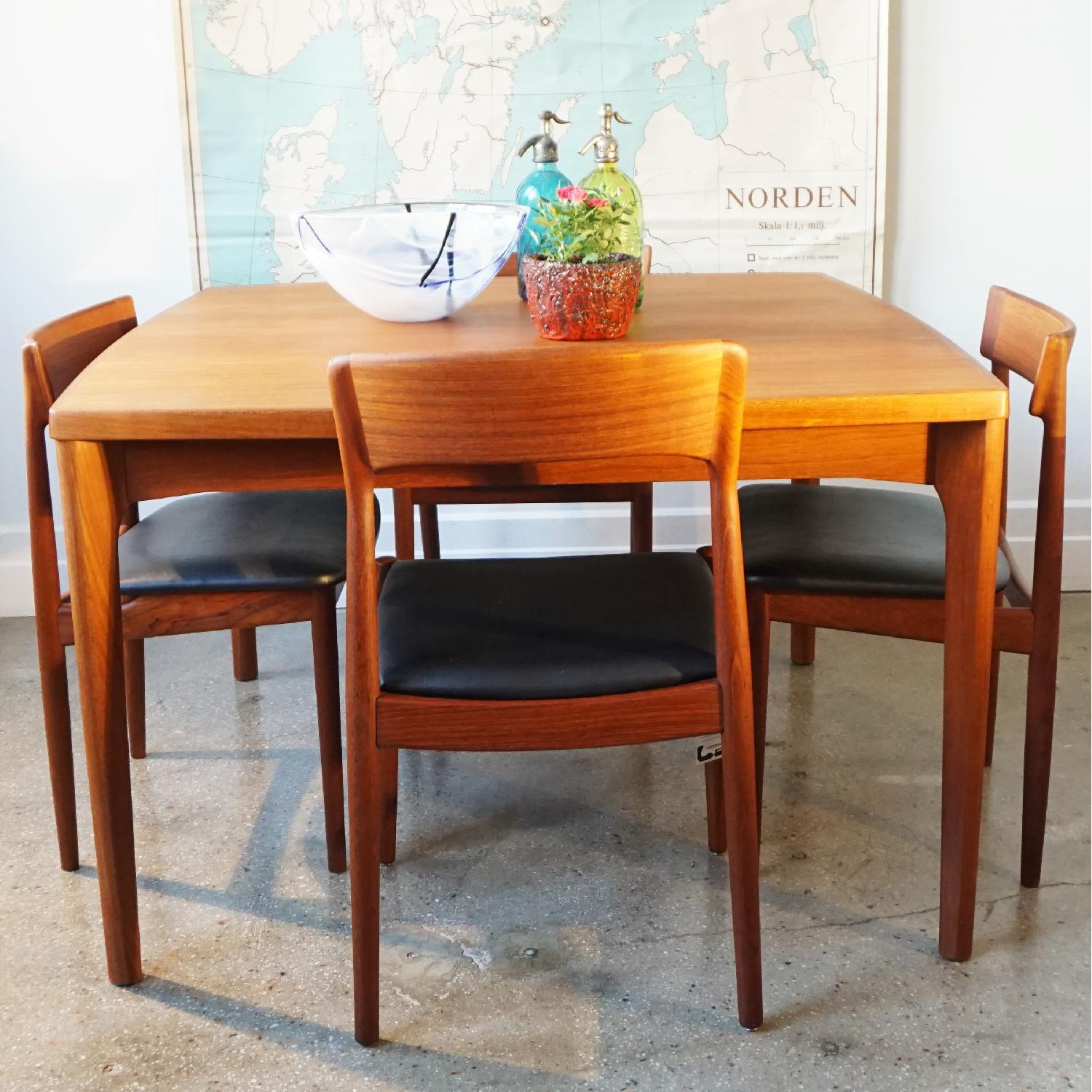 Henning Kjrnulf Extendable Dining Table - image-6