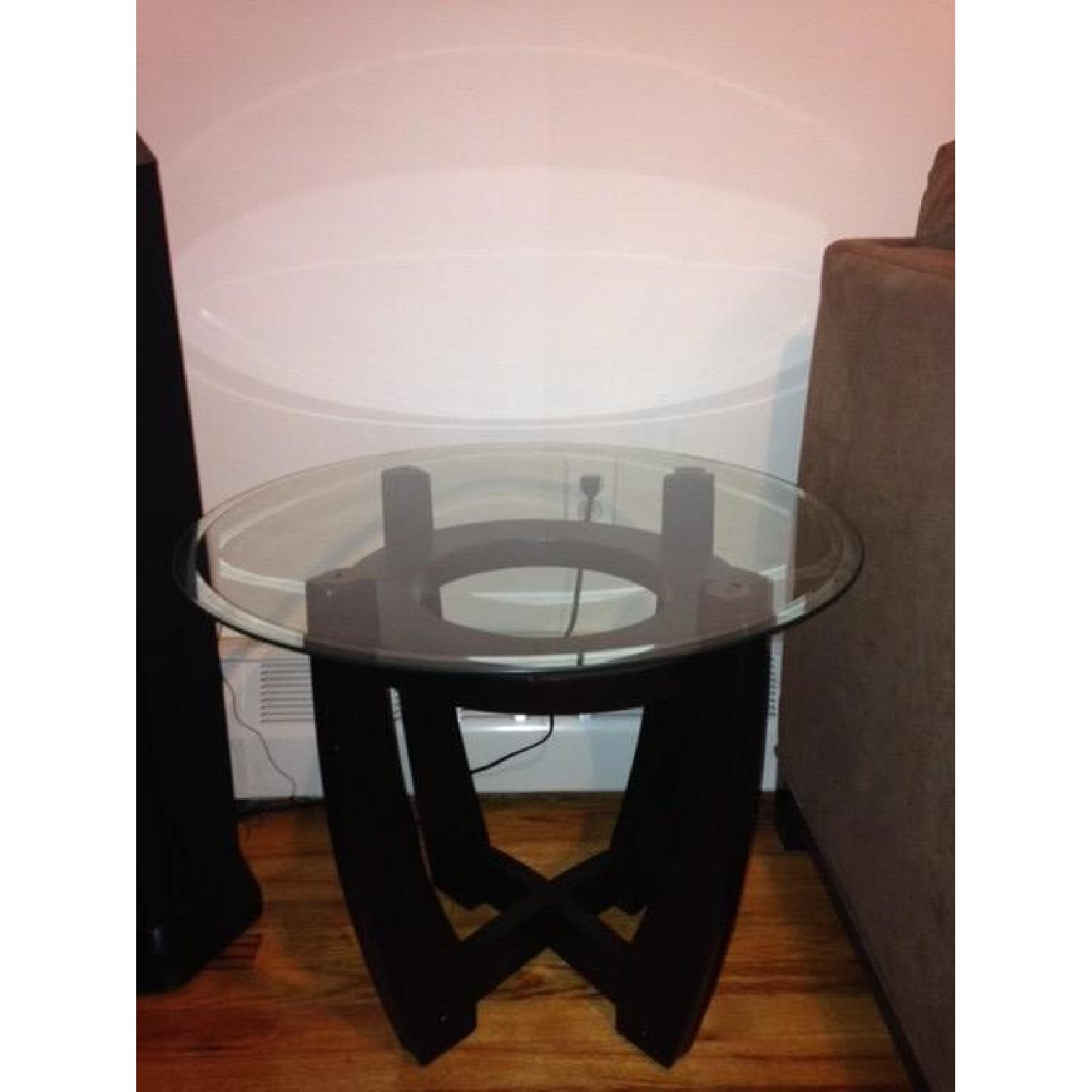 Espresso Coffee Table + 2 End Tables - image-4