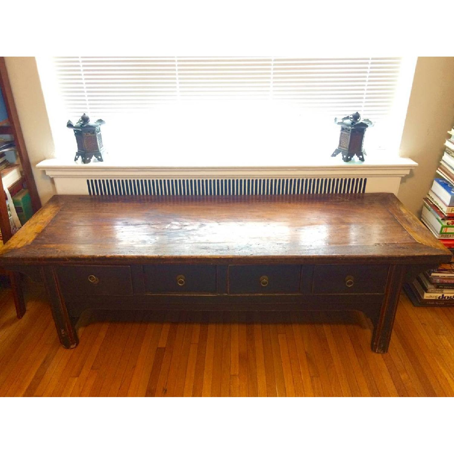 Antique Chinese Low Sideboard - image-1