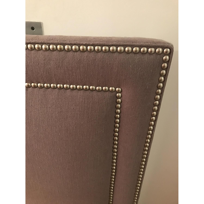 Custom Made Headboard w/ Nailhead Trim - image-4