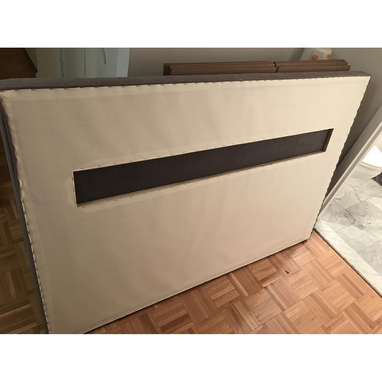 Custom Made Headboard w/ Nailhead Trim - image-5