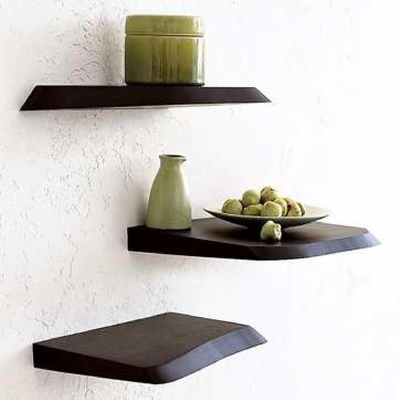 West Elm Floating Wall Shelves - image-0