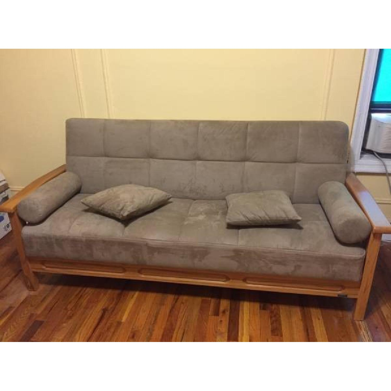 Convert-a-Couch Sofa Bed - image-1