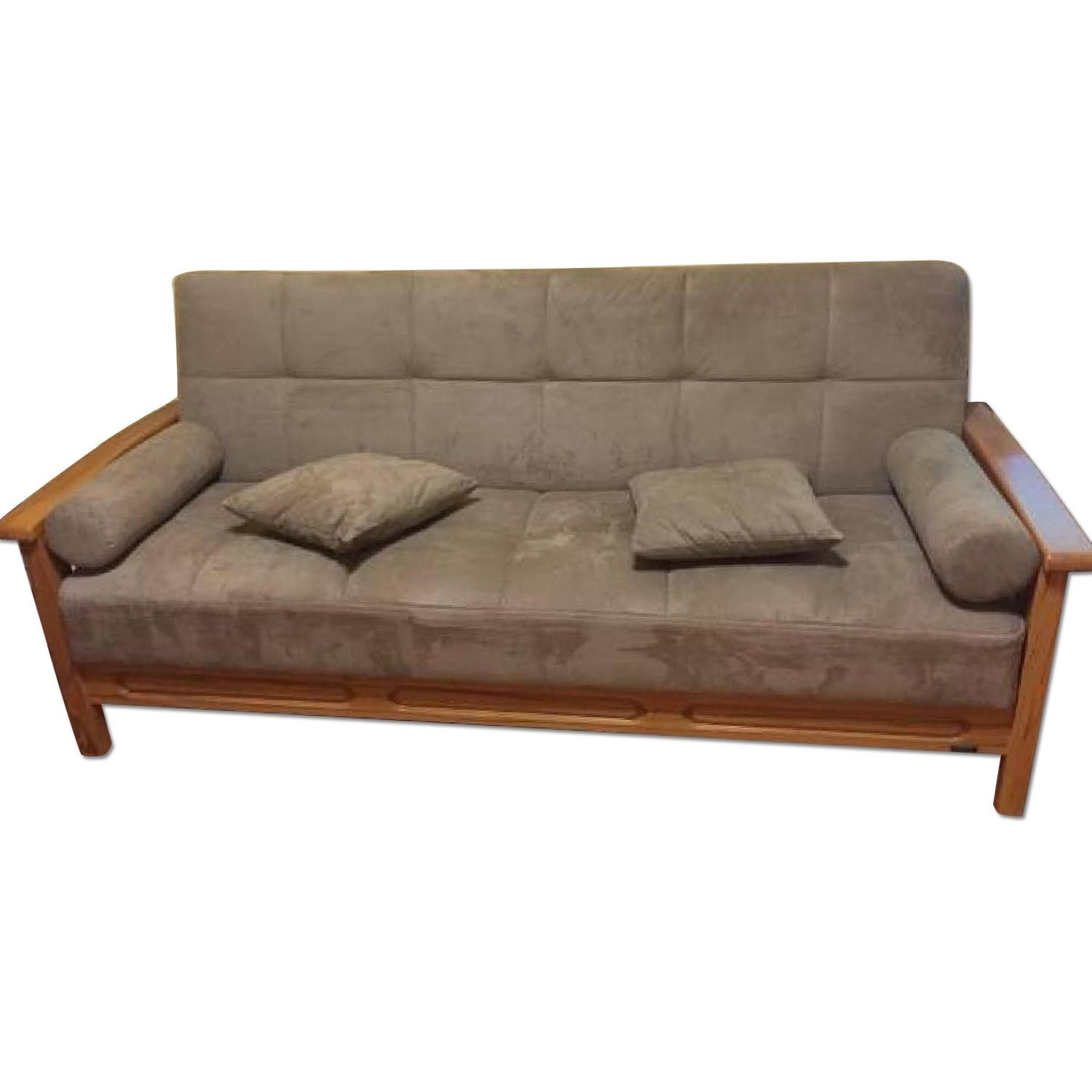 Convert-a-Couch Sofa Bed - image-0