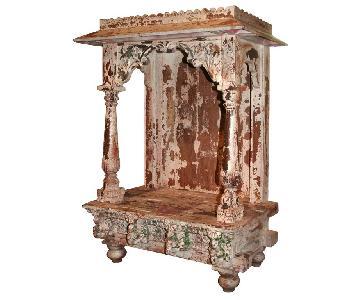 Antique Indian Altar