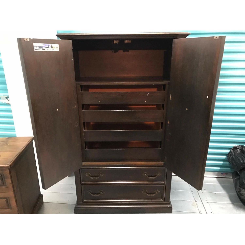 1970s Vintage Kroehler Furniture Armoire - image-11