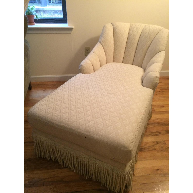 Kincaid Furniture Cream Chaise Lounge - image-1