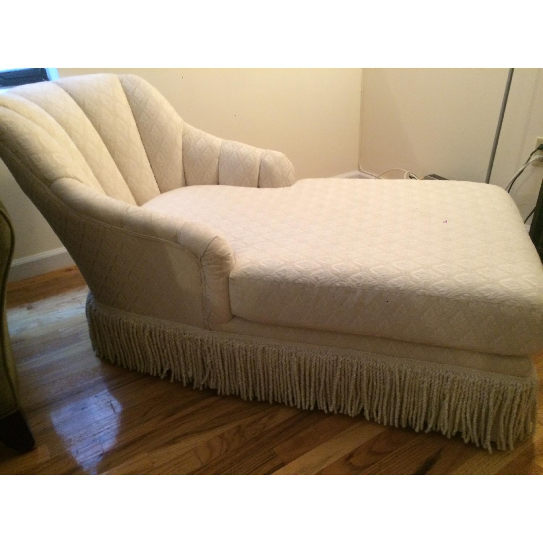 Kincaid Furniture Cream Chaise Lounge - image-4
