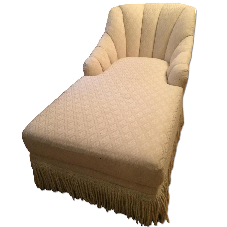 Kincaid Furniture Cream Chaise Lounge - image-0