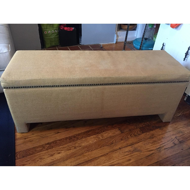 Fabric Storage Bench - image-1