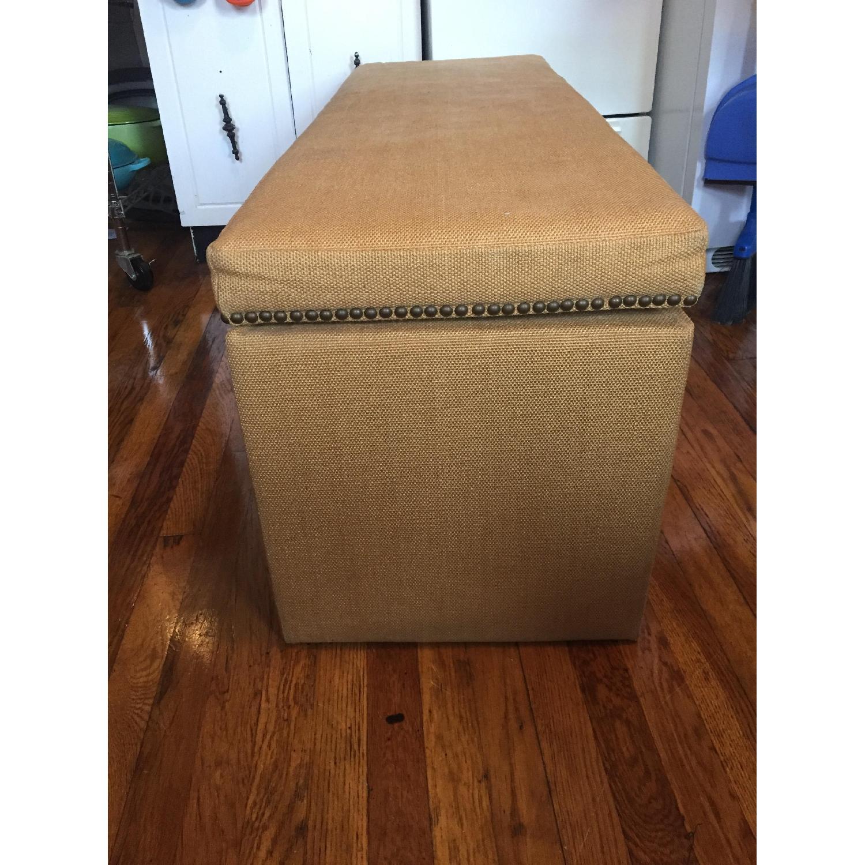 Fabric Storage Bench - image-2