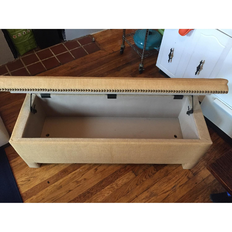 Fabric Storage Bench - image-7