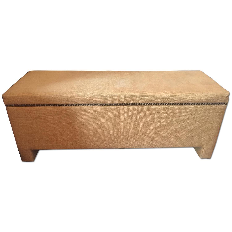 Fabric Storage Bench - image-0