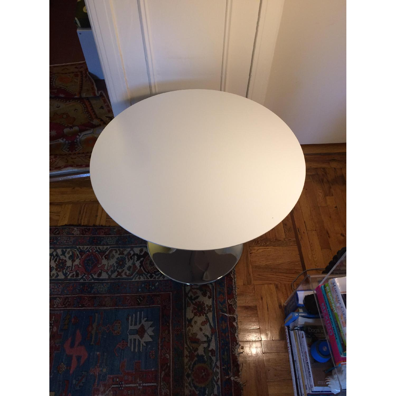 Round White Dining Table - image-6