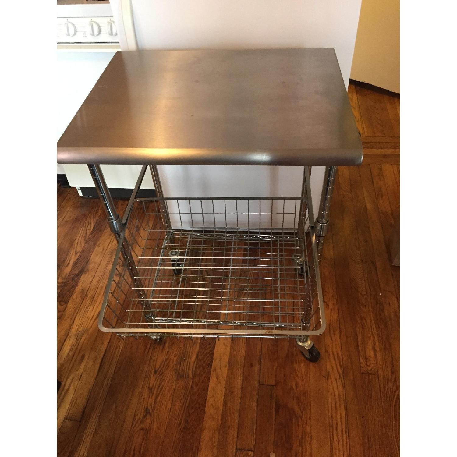 Stainless Steel Bakers Cart - image-1