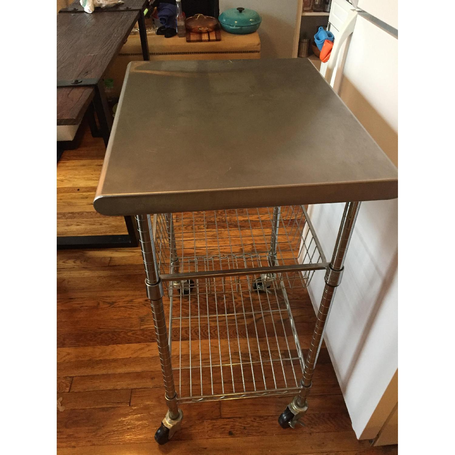Stainless Steel Bakers Cart - image-3