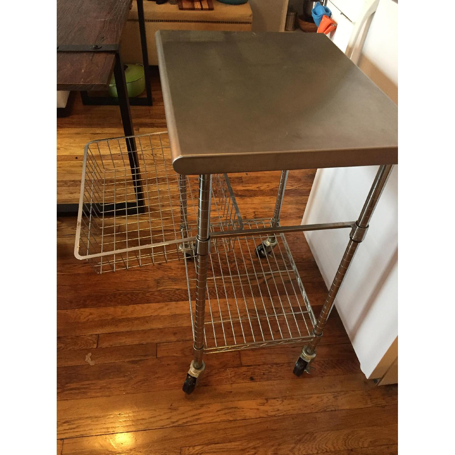 Stainless Steel Bakers Cart - image-4