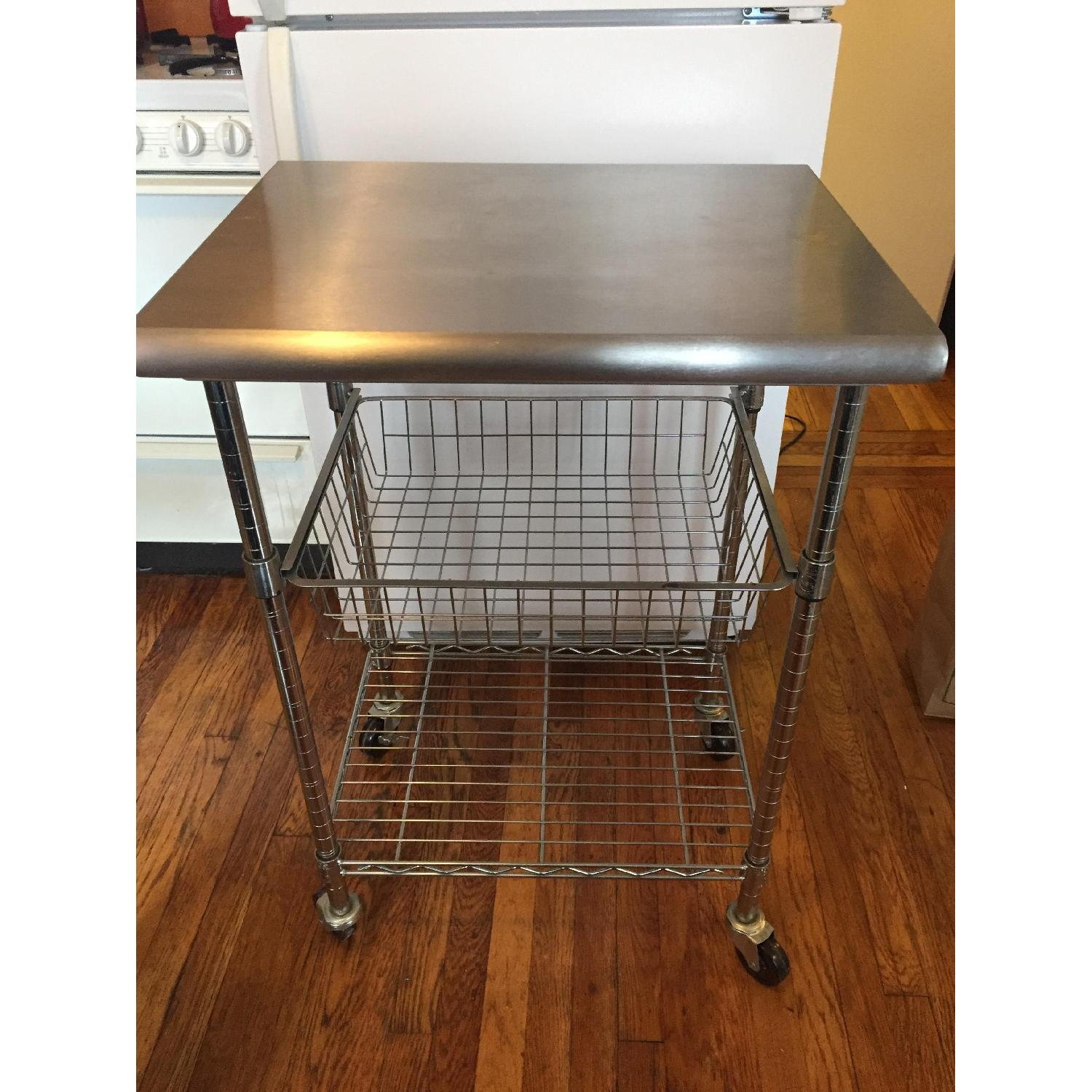 Stainless Steel Bakers Cart - image-5