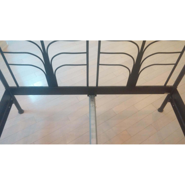 Ikea Black Metal Full Size Bed Frame - image-2