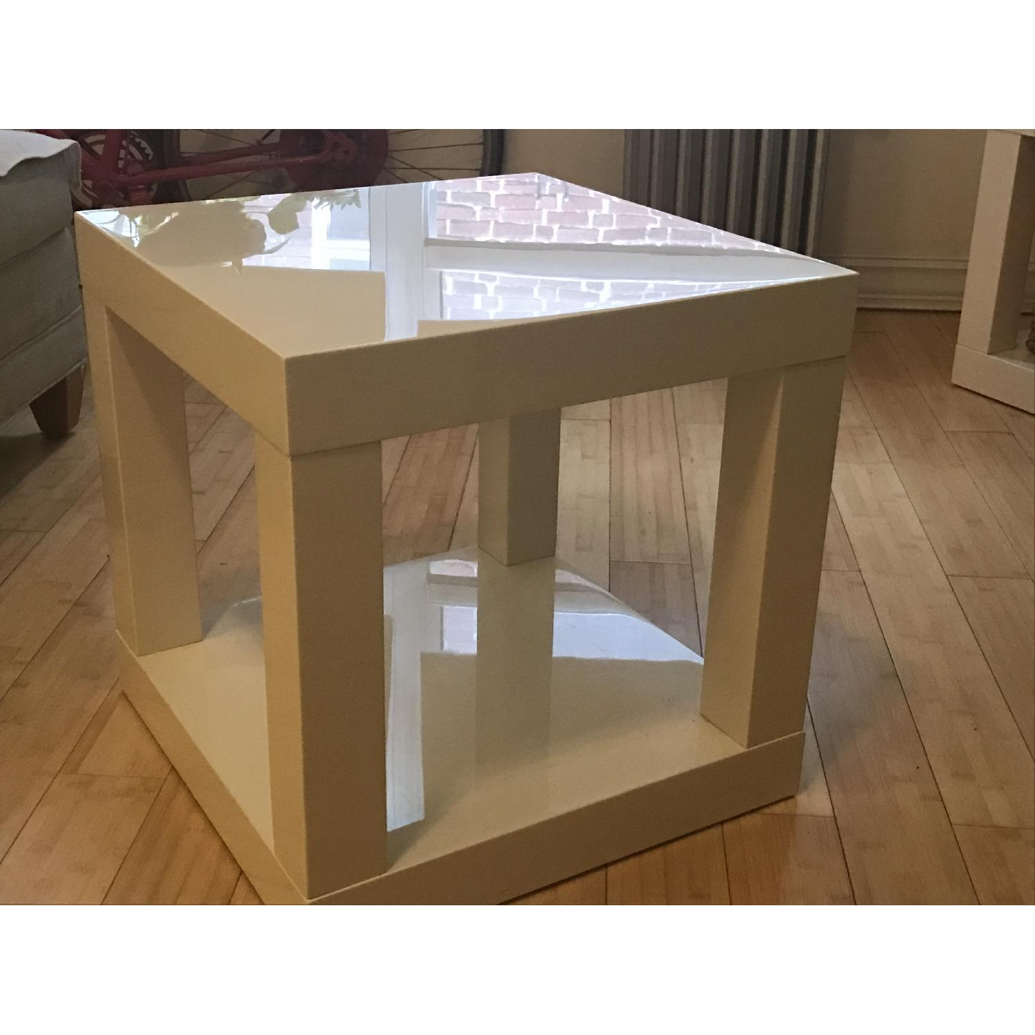 West Elm Lacquer Side Table - image-2