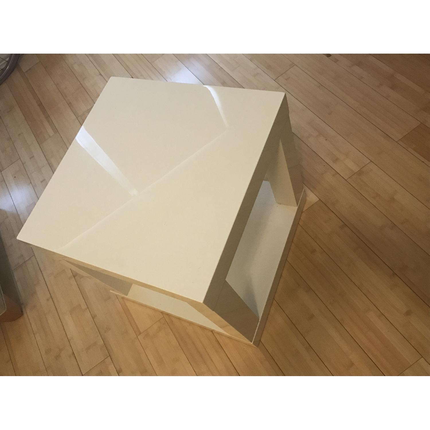 West Elm Lacquer Side Table - image-3
