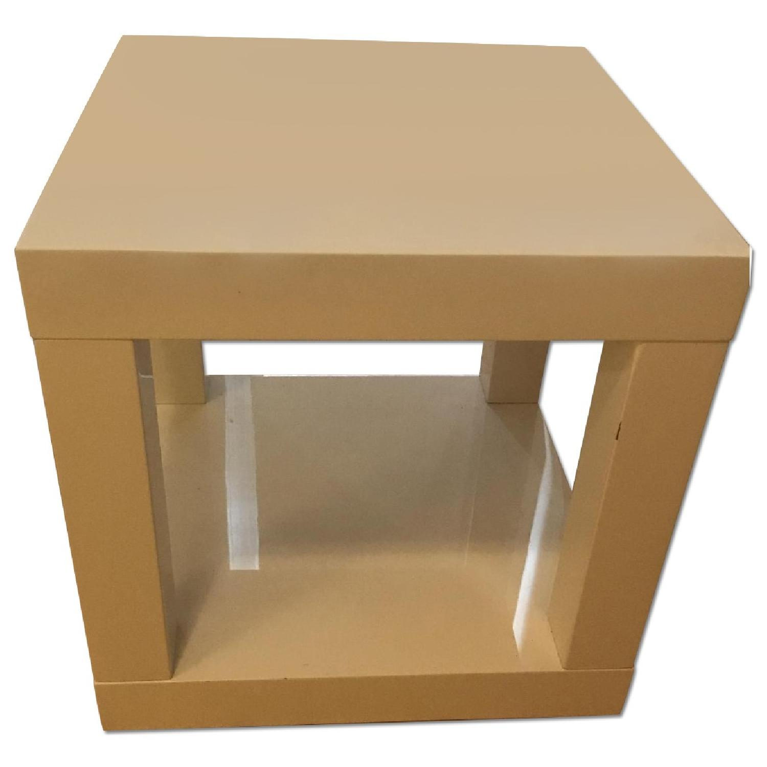 West Elm Lacquer Side Table - image-0